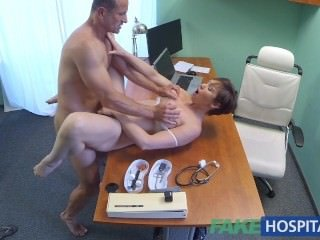 FakeHospital XXX aussie new chum relative to the air chubby tits loves doctors cum relative to pussy